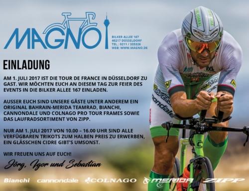 Einladung zum Tour de France Start